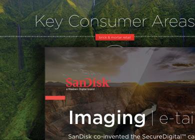 sandisk ad design