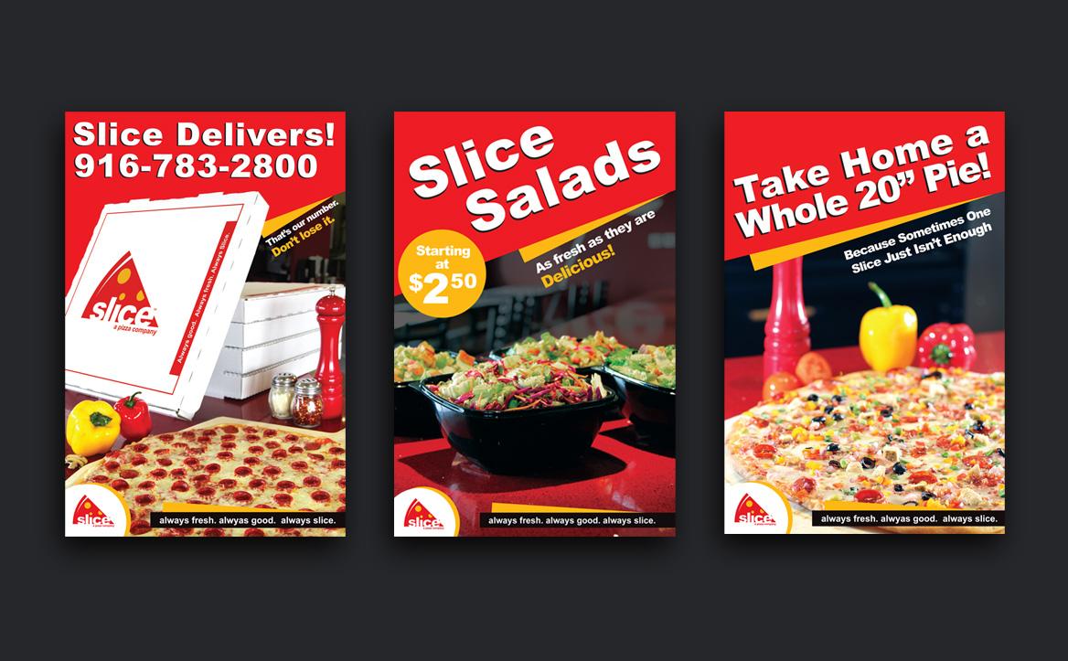 slice paper ads