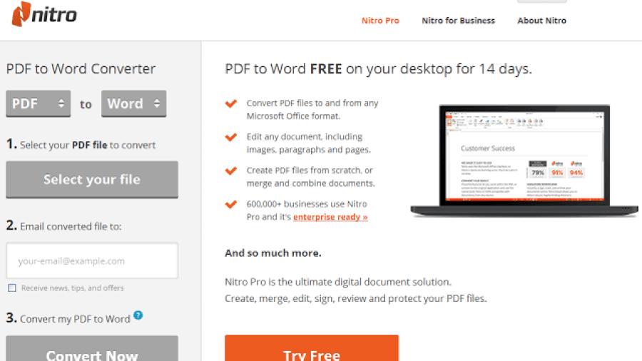 أفضل البرامج المجانية للـ تحويل من الـ Pdf الى الـ Word في
