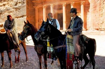 "kadr z filmu ""Indiana Jones i ostatnia krucjata"" (1989 r.), reż. Steven Spielberg"