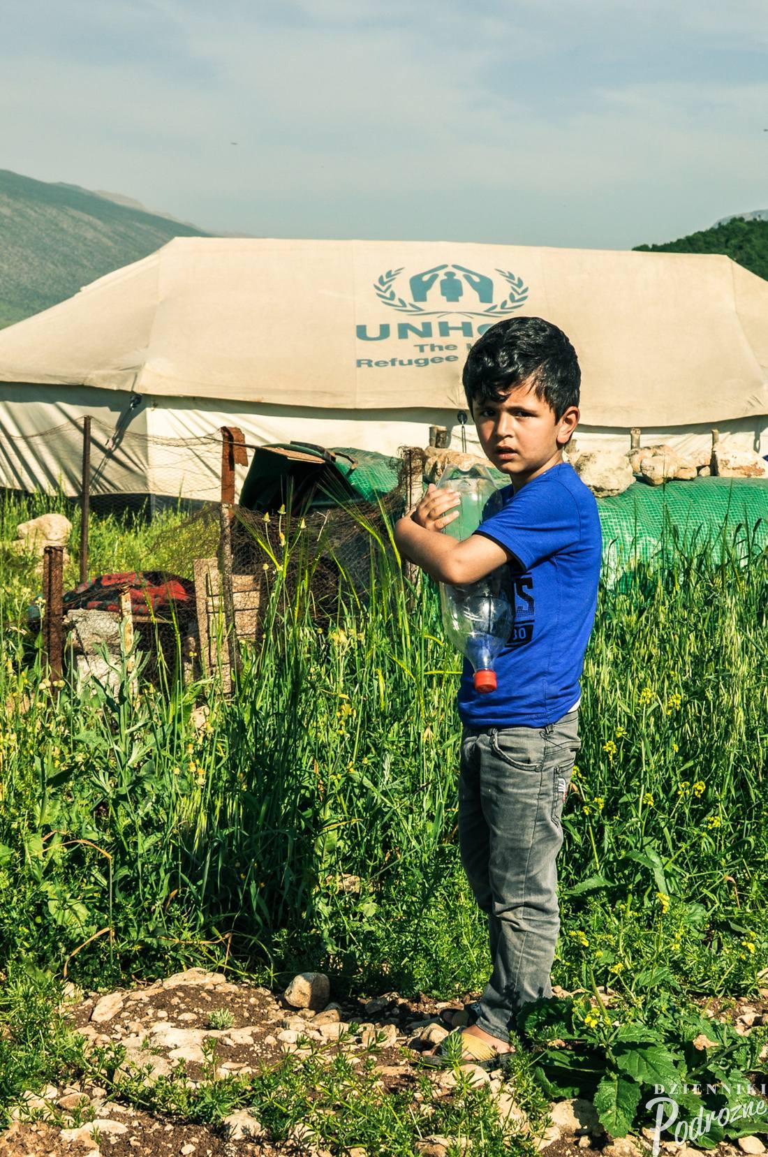 obóz uchodźców syryjskich pod Seladize