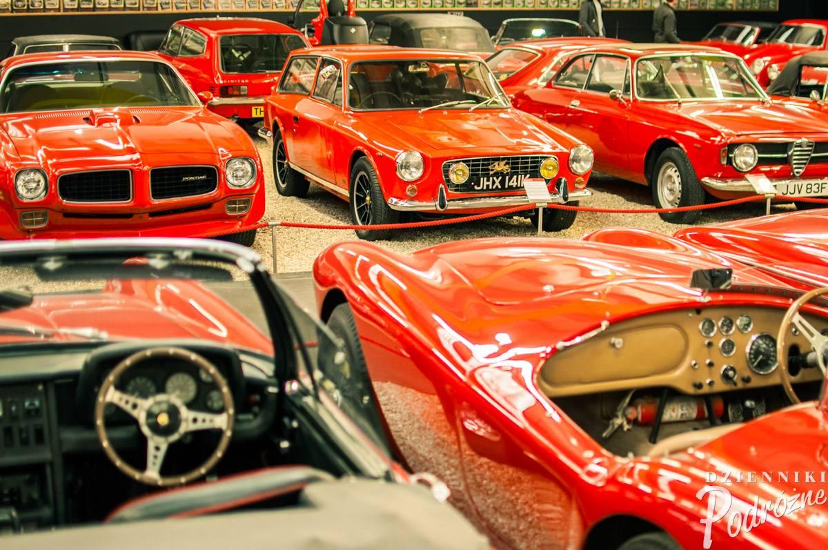 Haynes International Motor Museum (jedyna rzecz, na którą mnie było stać)