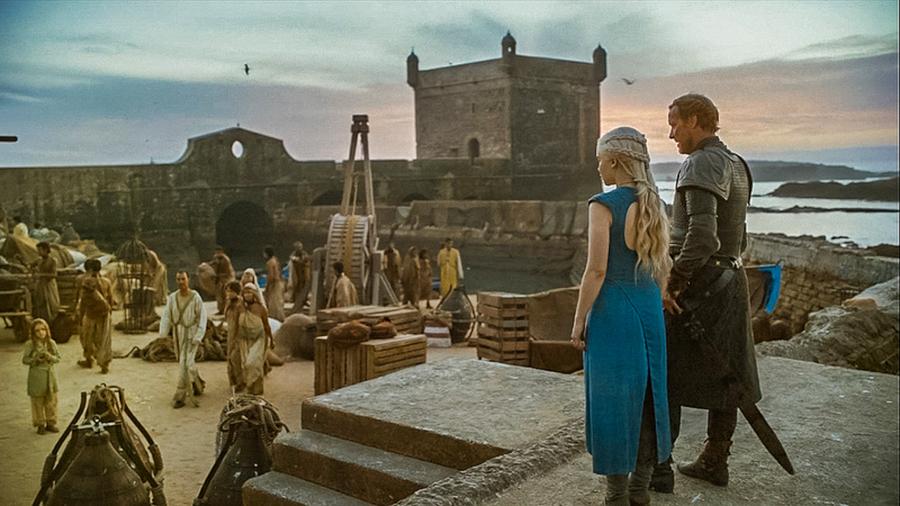 "Essaouira jako Astapor – kadr z filmu ""Gra o Tron"""
