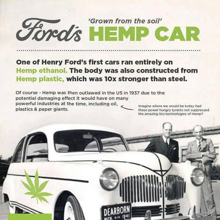 konopie, auto, Ford, marihuana