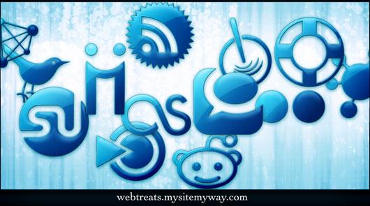Blue-Jelly-Social-Media-Icons