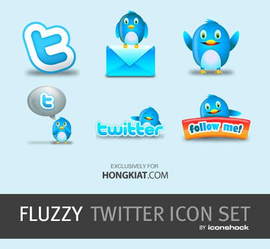 Fluzzy-Twitter-Icon-Set