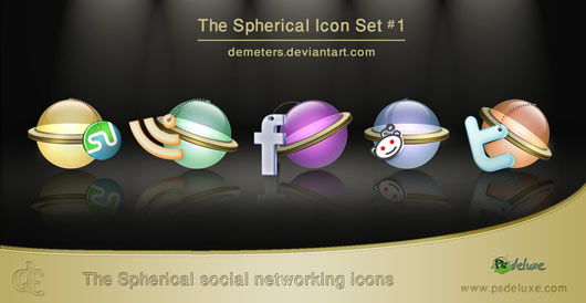 Social-Networking-icons-set