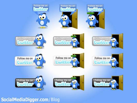 Twitter-Button-Pack