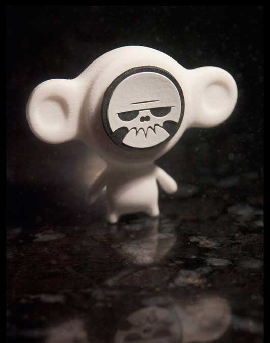 Dead Monkey_art toy