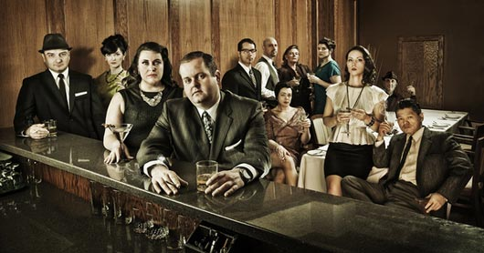 Mad Men Style Christmas Card