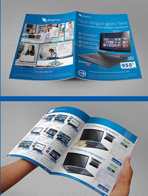30 awesome psd brochure design templates