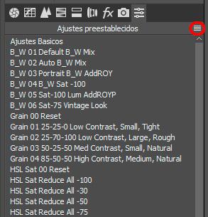 camera-raw-ajustes-preestablecidos-menu