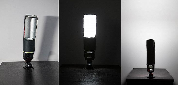 Toda la ventana que hemos abierto se convertirá en el nuevo foco de luz, proyecta una luz amplia hacia delante