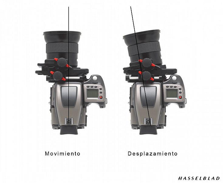 Hasselblad H3 con adaptador HTS1.5