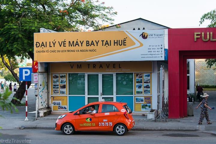 vm travels, Hue car service, car service, vietnam car, transportation, taxi