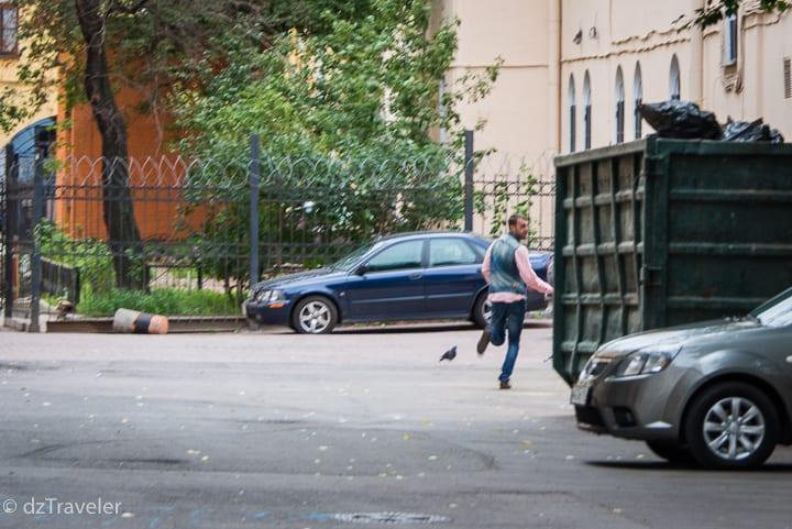 Thieves in St. Petersburg, Russia