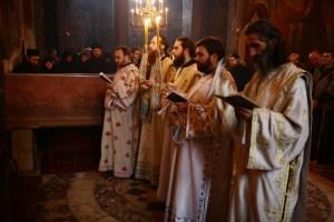 Święto króla Stefana Dečanskiego wmonasterze Visoki Dečani