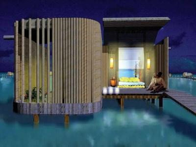 Maldives Resort Design - Indian Ocean Building - e-architect