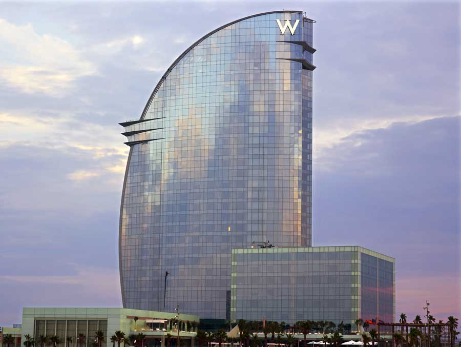 W Barcelona Hotel Spain E Architect