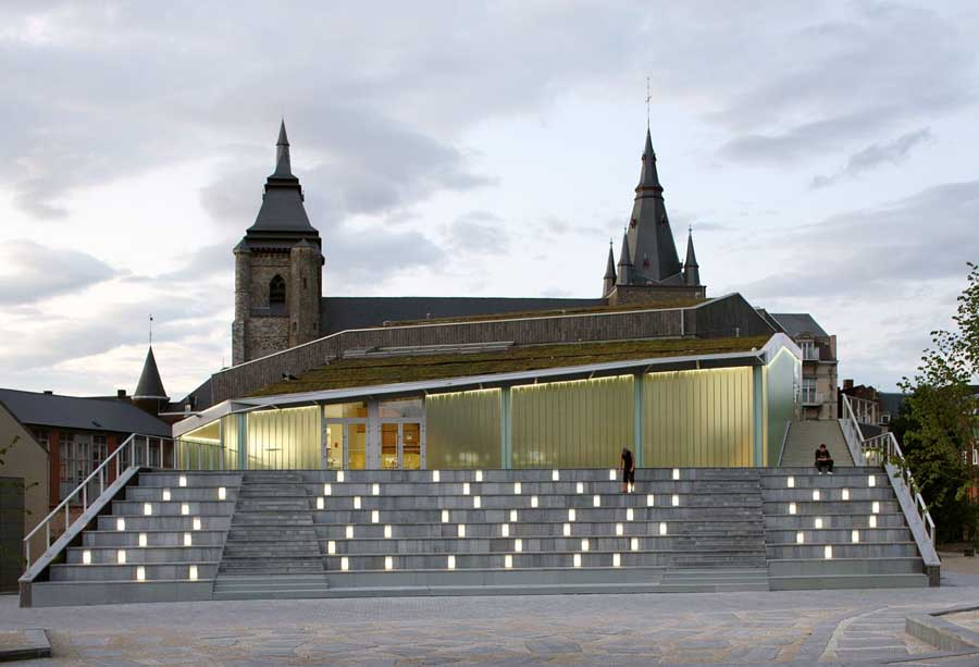 New Cultural Hall Soignies Belgium Soignies Building E