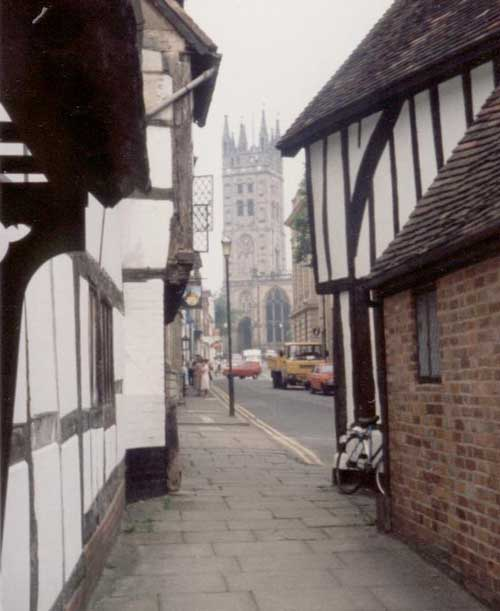 Half Timbered Houses Half Timbered Buildings England E