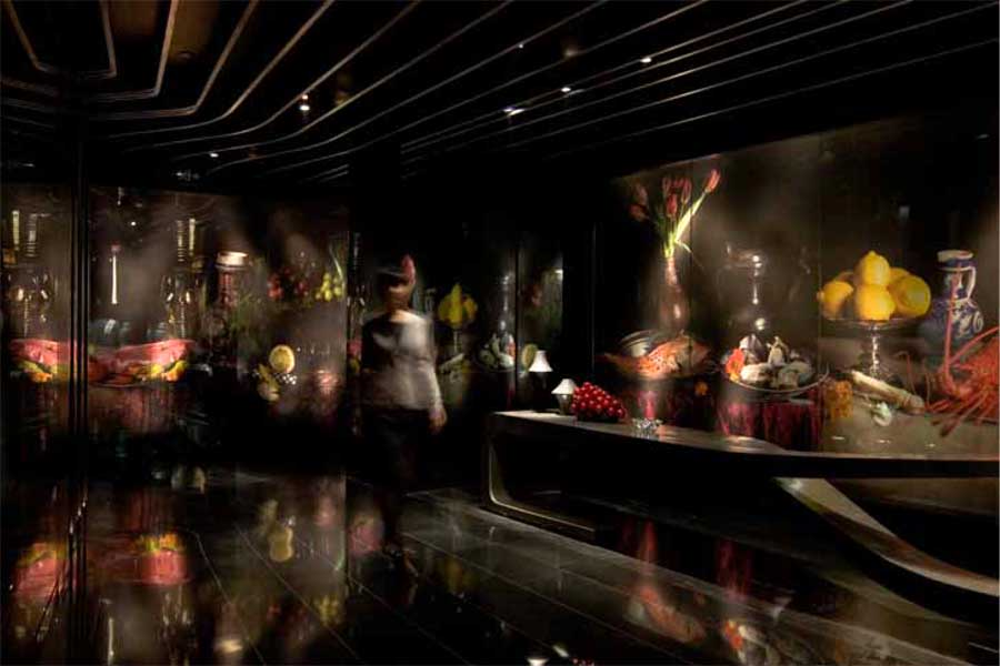Gingko Restaurant Sichuan Interior Chengdu Restaurant
