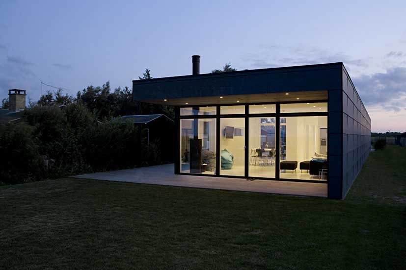 Danish Summerhouse Seaside Building Denmark Schou E