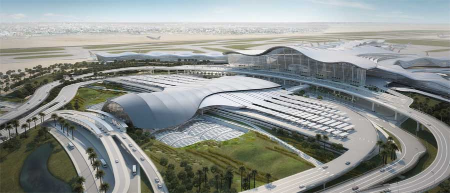 Abu Dhabi International Airport Uae E Architect