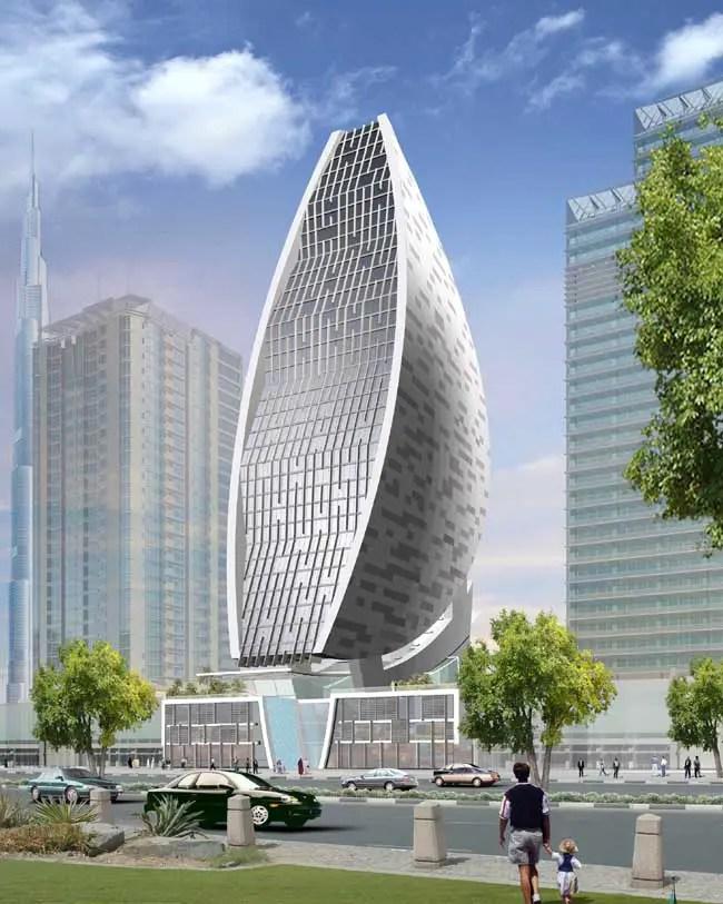 Sheth Tower Dubai Iris Bay E Architect