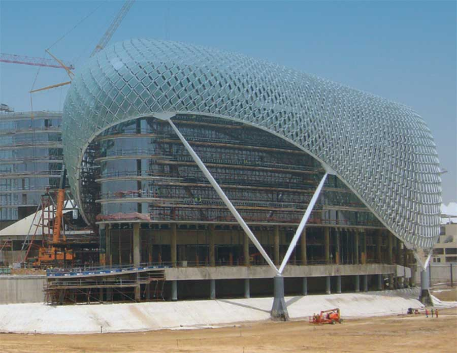 Yas Hotel Abu Dhabi UAE By Asymptote E Architect