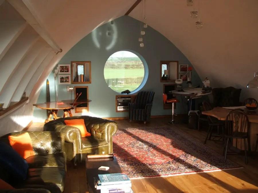 Straw Bale House Cumbria England E Architect