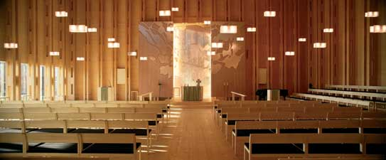 Viikki Church Helsinki Religious Building JKMM Finland
