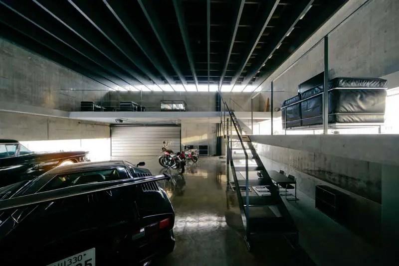 Hokkaido Building Japan Asahikawa Garage Kamikawa E
