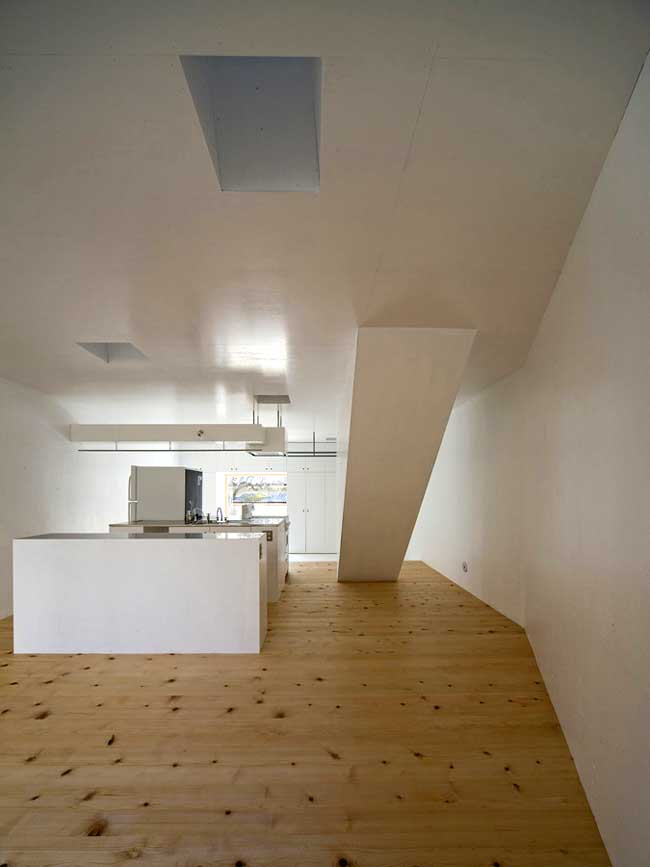 Light Well House Kyoto Home Japan Keiichi Hayashi E