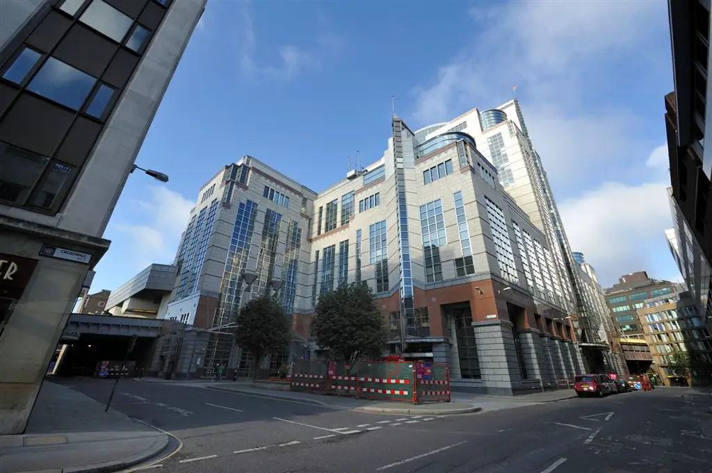 1 America Square London Office Building E Architect