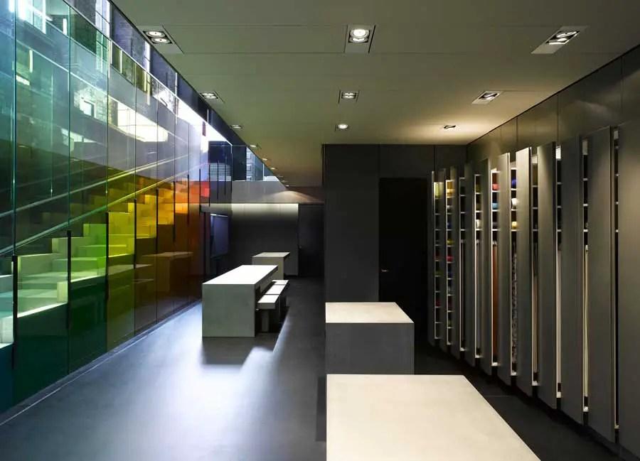 Kvadrat Showroom London Shoreditch E Architect