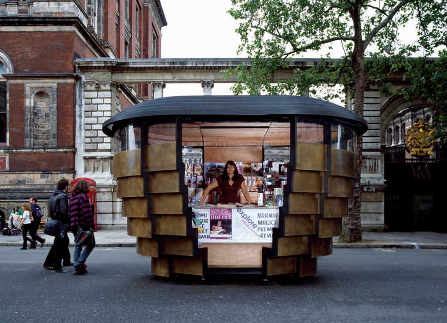 Paperhouse London Newspaper Kiosks E Architect