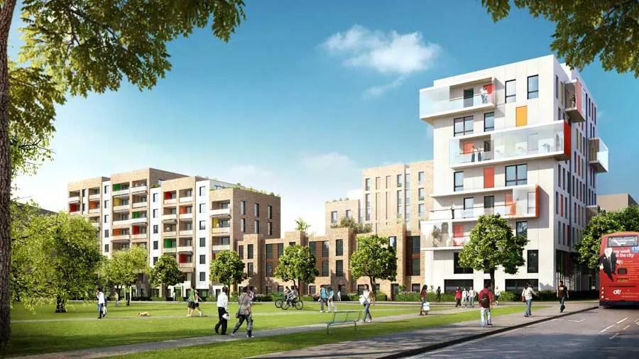 South Acton Estate Ealing Housing E Architect