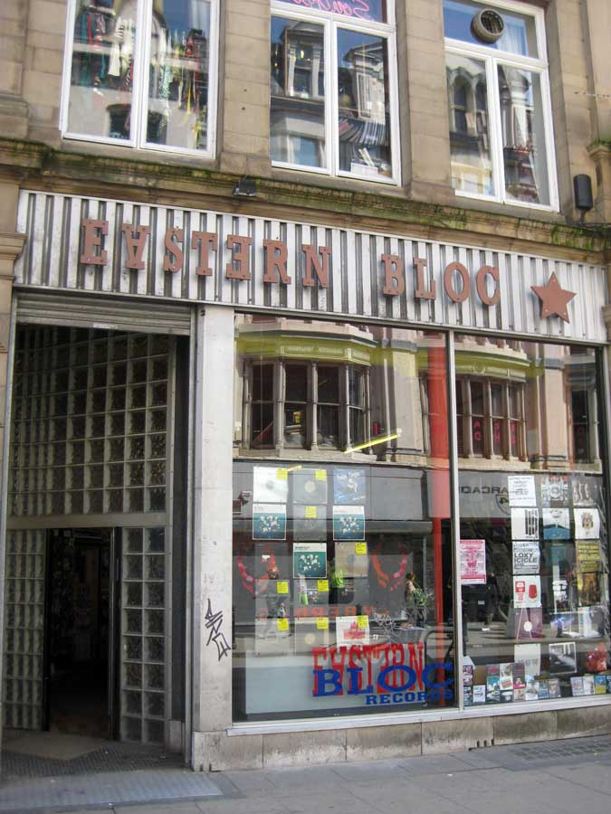 Oldham Street Manchester Record Shop E Architect