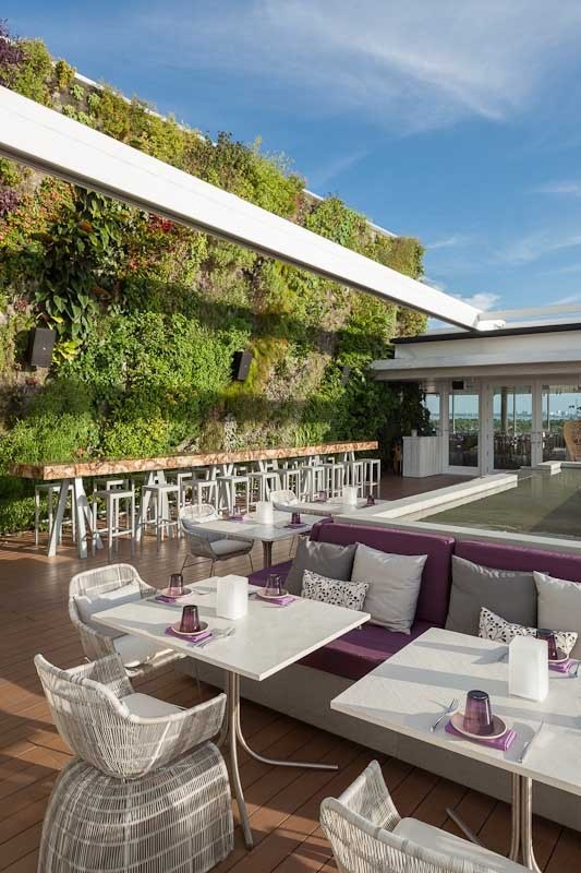 Juvia Restaurant Miami Building Florida E Architect