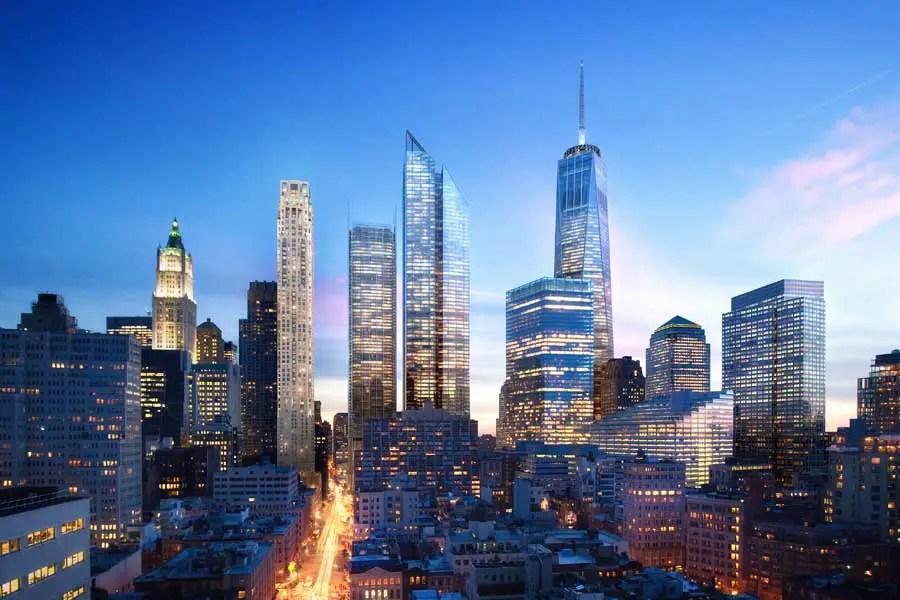 New York Buildings NYC E Architect