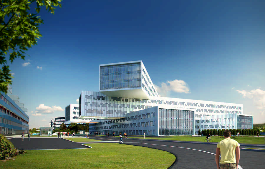 STATOIL Oslo Offices Fornebu Building Norway E Architect