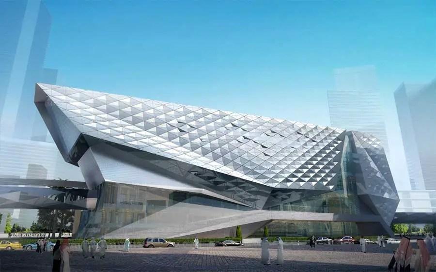 Museum Of The Built Environment Kafd Riyadh E Architect