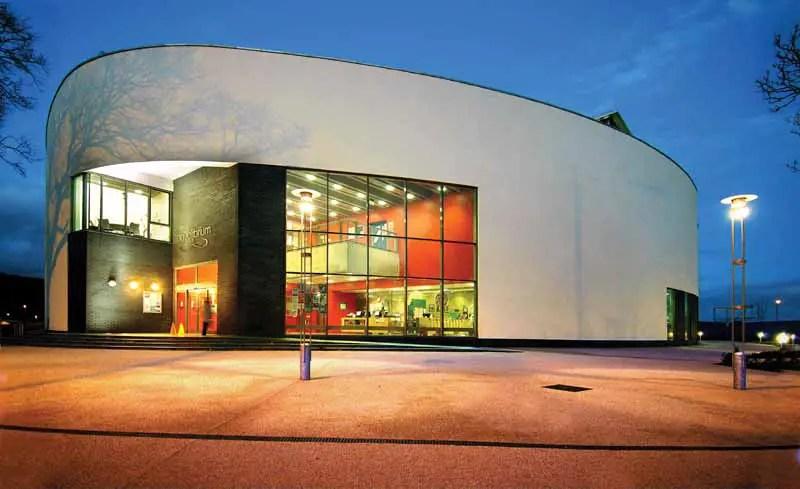 Aqualibrium Campbeltown Building Scotland Mull Of