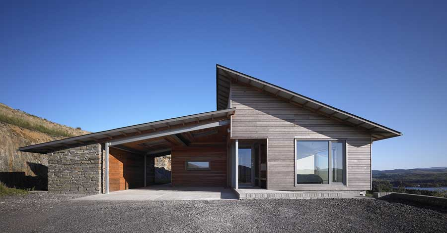 Deepstone Low Energy House Scotland E Architect