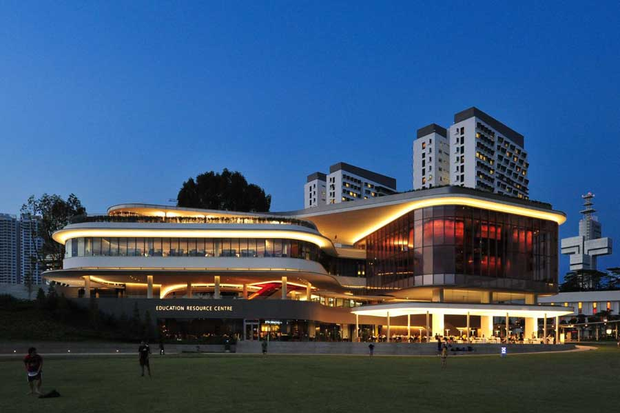 Education Resource Centre Singapore W Architects E
