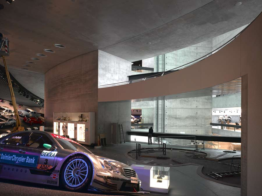 Mercedes Museum Stuttgart UNStudio E Architect