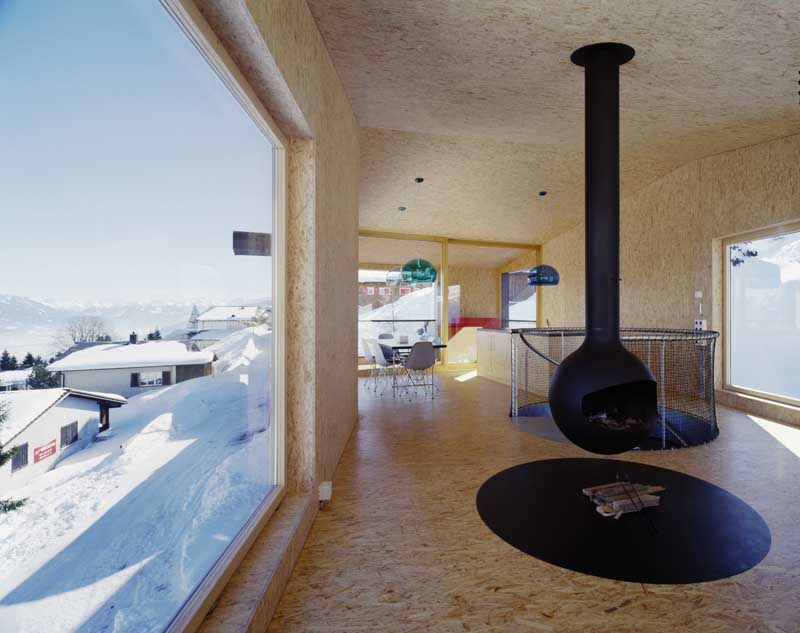 Flumserberg House Swiss Holiday Cottage Photos E Architect