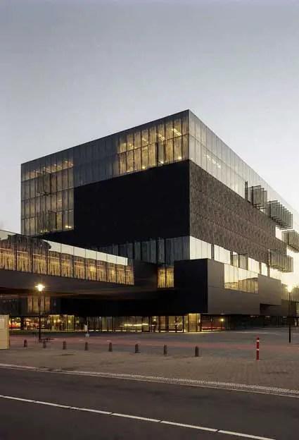 Utrecht University Library Building E Architect