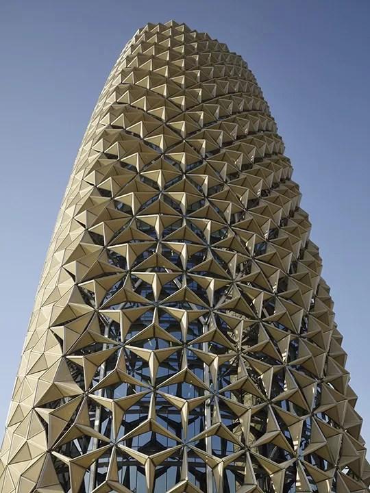 Al Bahar Towers Abu Dhabi Buildings E Architect